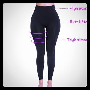 Tummy control high waist leggings